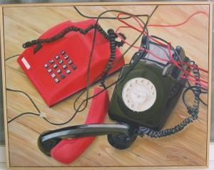 Telefones namorando