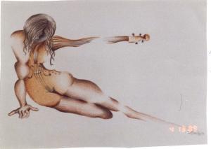 Mulher viola