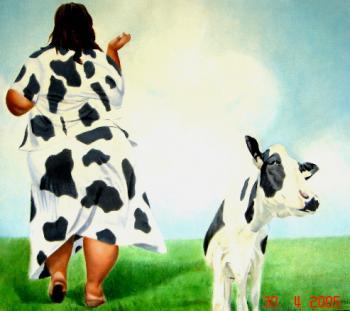 Mulher Vaca
