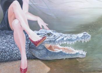 Sapatos de Crocodilo